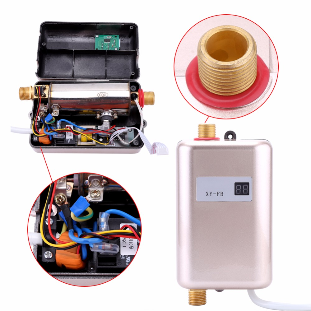 3400w Instantaneous Water Heater Instant Electric Tankless