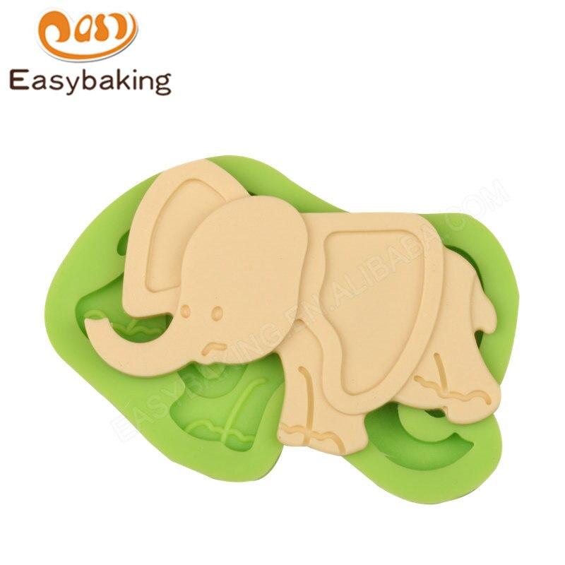Kuchen deko elefant