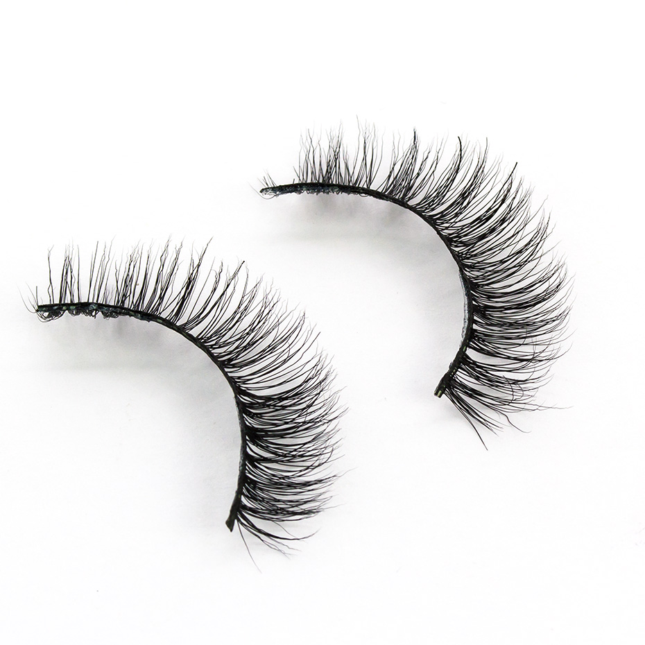 393765f71aa VICILEY Mink Lashes Real Mink False Eyelashes Natural Cilios lashes  Handmade Fake Eye Lashes Extension for makeup A03-in False Eyelashes from  Beauty ...