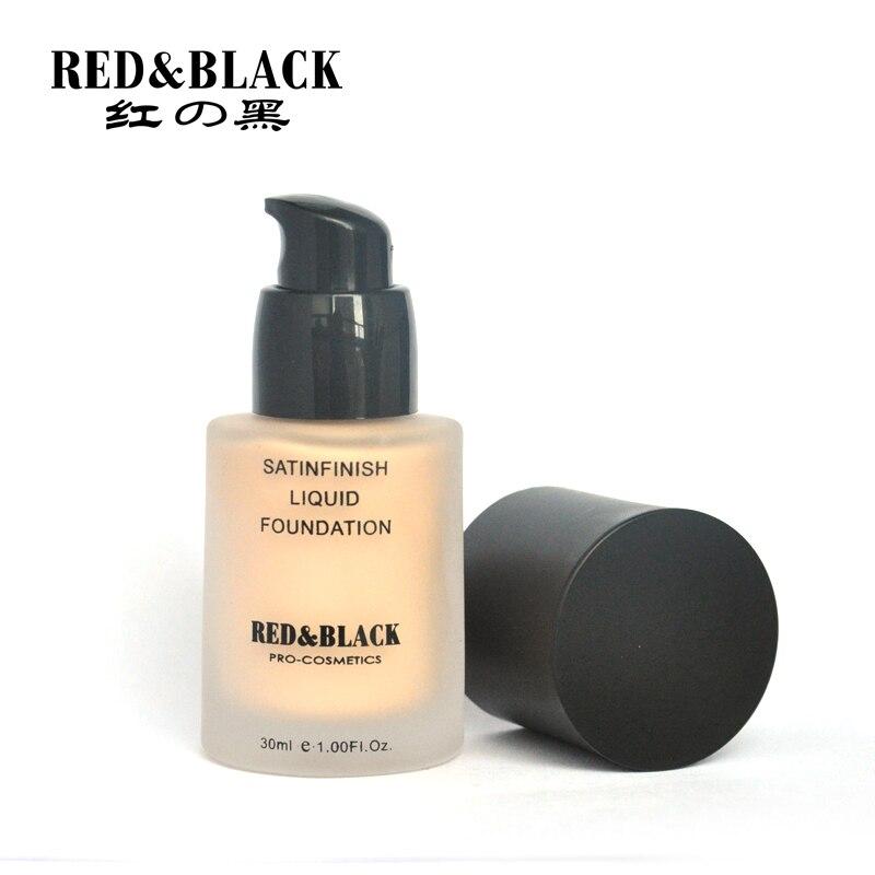 Red & Black Make Up Tool Kit 8 stks Moisturizer Lipstick Matte Langdurige Lippenstift Foundation Concealer Wenkbrauwpotlood Eyeliner - 3