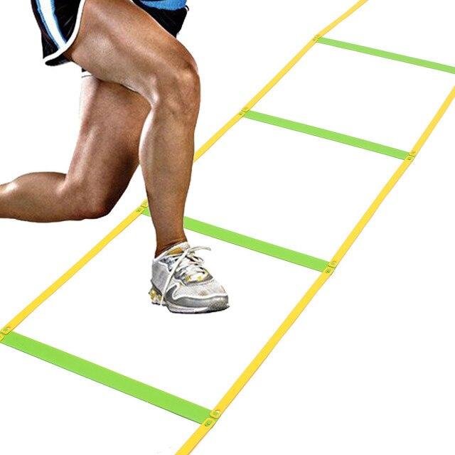 deportes al aire libre durable peldaos de m gimnasio velocidad escalera de agilidad para