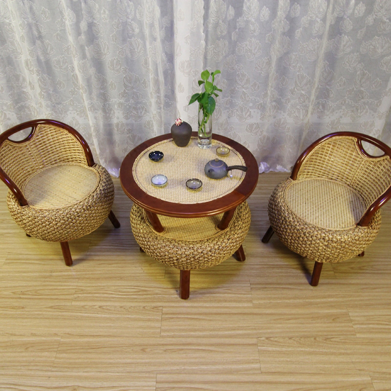 Luxury Round Rattan Garden Furniture Rattan Table Rattan Chair Set Leisure Party Meeting Holiday Furniture Leisure Chair Set цены