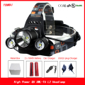 8000Lumen Headlamp XML T6 XM-L2 LED Headlight Flashlight Torch Bicycle Head Light Lamp 18650 Battery Charger Hunting Fishing