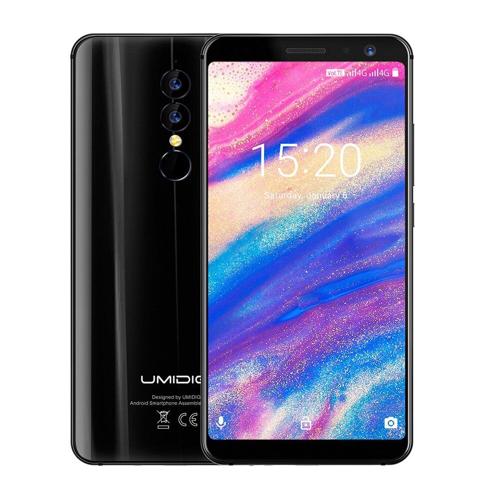 UMIDIGI A1 Pro 4G Phablet 5.5 inch Android 8.1 MTK6739 Quad Core 1.5GHz 3GB RAM 16GB ROM Dual Rear Cameras Fingerprint Recognize