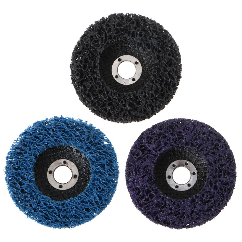 125mm Poly Strip Disc Abrasive Wheel Paint Rust Remover Clean Grinding Wheels For Angle Grinder