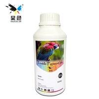 500ML Black Color Digital Textile Pigment Ink Garment Ink For Epson Printer Dtg Ink Pure Cotton