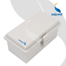 110 200 90mm ABS Waterproof Connection Box with Plastic Draw Latches Hinge Type Enclosure SP MG