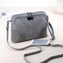 Fashion vintage 2016 normic shell chain small bag scrub fashion messenger bag female handbag messenger bag