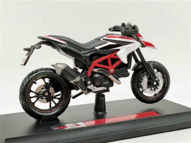 Maisto 1:18 دوكاتي Hypermotard SP دراجة نارية دييكاست لعبة مجسمة جديدة في صندوق