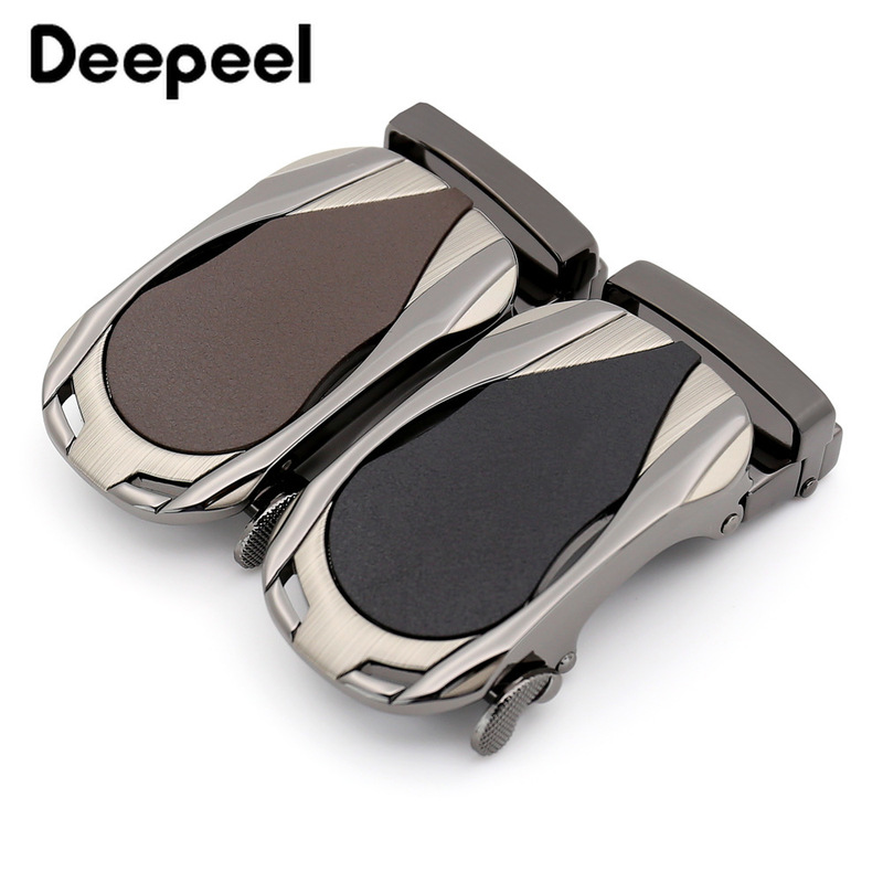 Deepeel Fashion Metal Belt Buckle For Business Men Automatic Belt Buckle Head Waistband For 34-35mm Belts Mens Jeans Accessories