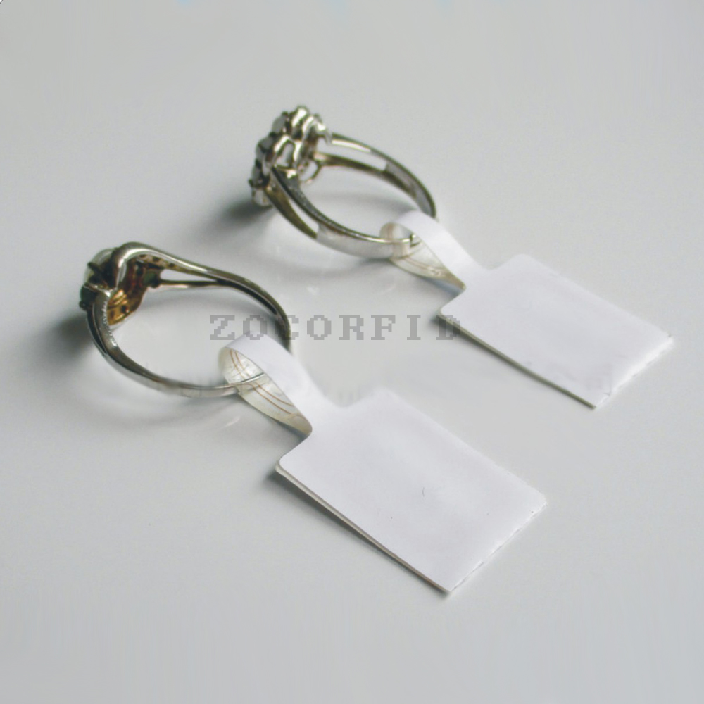 10pcs/lot ISO 18000-6C Alien Higgs 3 Chip 9662 Antenna UHF RFID Tag 915mhz Passive RFID UHF Sticker Label