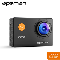 Apeman Action Camera A66 1080p Pro Waterproof Action Cam Sport Head Helmet Video Camera With Camcorder