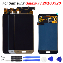 J3 2016 LCD for For Samsung Galaxy J3 LCD display Touch Screen Digitizer Assembly Replacement  J320 LCD J320F J320M J320FN Ekran все цены