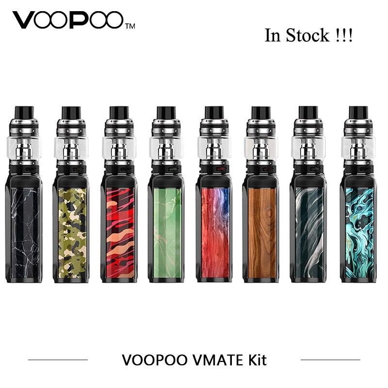 Origina VOOPOO Vmate Kit 200 w Avec UFORCE T1 8 ml Réservoir Double Batterie TC Boîte Mod Kit Électronique Cigarettes 200 w Vaporisateur 0.2ohm U2