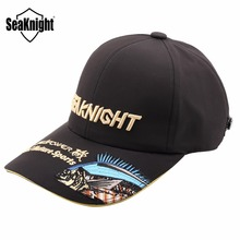 SeaKnight SK002 Fishing Cap Breathable Waterproof Adjustable Sunshade Embroidery Fishing Cap Men Women Outdoor Fishing Equipment