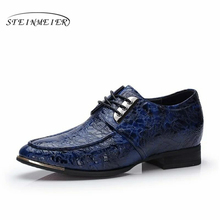 Mens formal shoes leather men increased oxford shoes for men dressing wedding business office shoes lace up male zapatos hombre