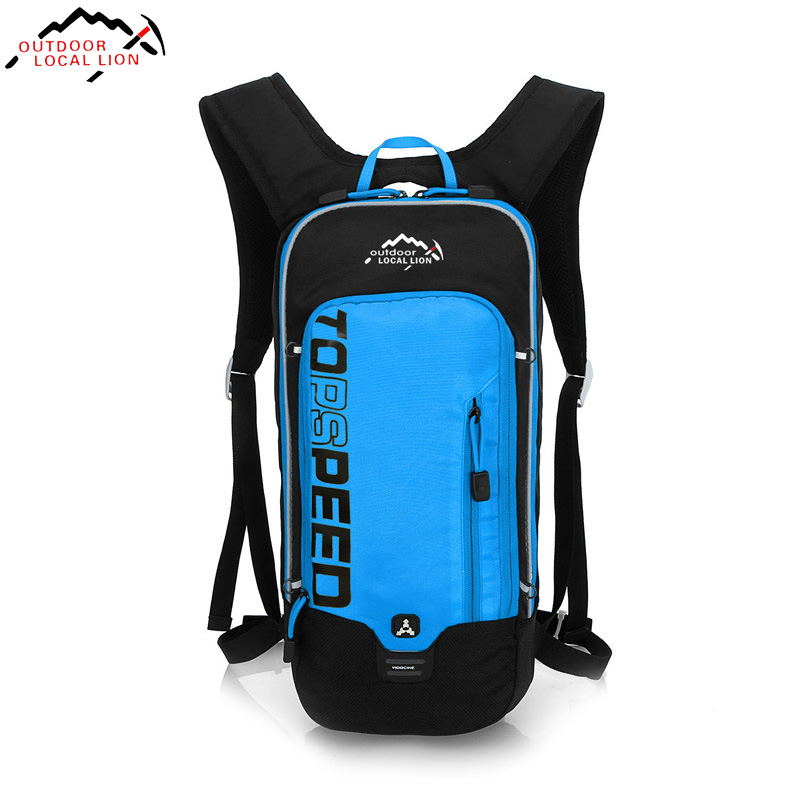 6L Outdoor Running Cycling Backpack 2L Bladder Water Bag Sports Camping Hiking H