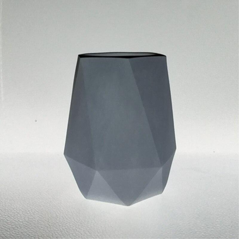 Concrete Desktop Storage Container Silicone Mold For Brush Penrack Pencil Pot Cement Flowerpot Pen Holder Molds Plaster Craft