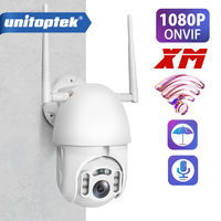 HD 1080P WIFI PTZ IP Camera Outdoor Wireless Speed Dome CCTV Security Camera ONVIF 2MP IR Home Surveillance Cameras P2P XMEye