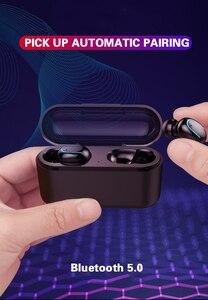Image 2 - Dikdoc Bluetooth earphone in ear handfree HiFi top sound quality wireless earbuds mega bass 1500mAh power box TWS earhone