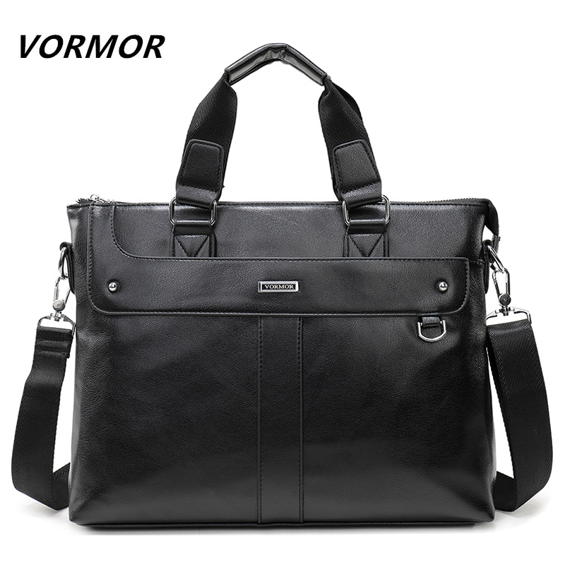 Men's Handbag Bags Business Computer Laptop Briefcase PU Leather Shoulder Messenger Bags Men Tote