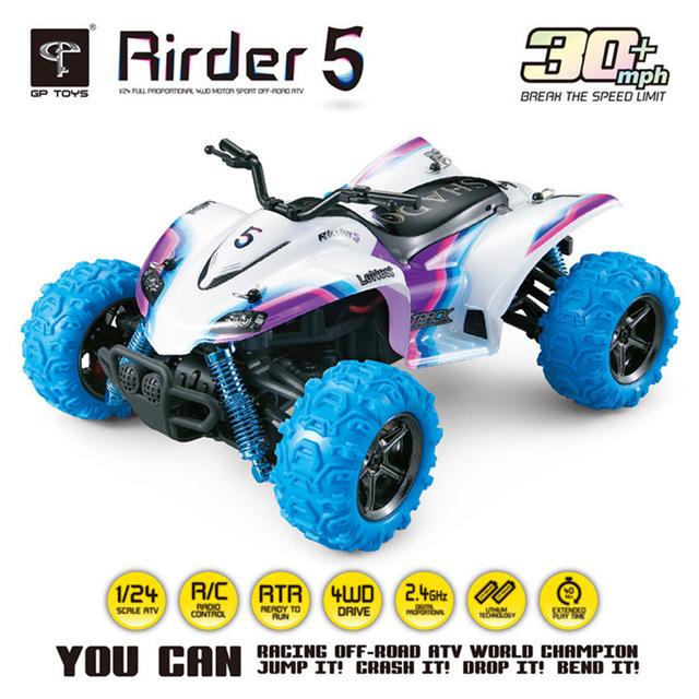 KF Rirder 5 Camiones Monstruo Camión de Control Remoto JUGUETES RC Cars Juguetes Mini rc juguetes 4WD Off Road Motocicleta Al Aire Libre de Alta Velocidad RTR