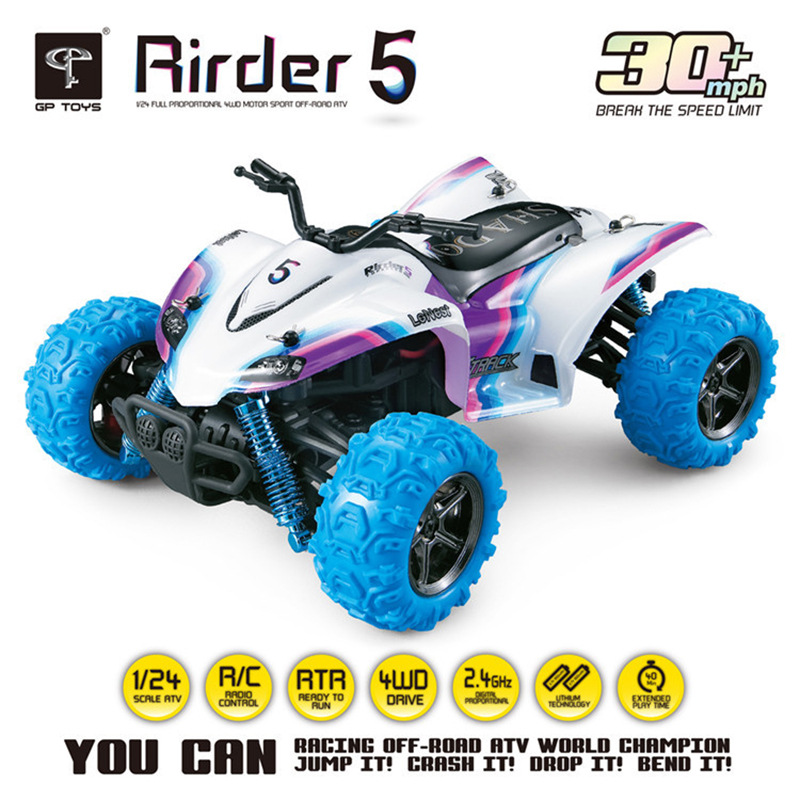 KF TOYS RC <font><b>Cars</b></font> Rirder 5 Monster <font><b>Trucks</b></font> Remote Control <font><b>Truck</b></font> Off Road <font><b>Motorcycle</b></font> Outdoor Toys Mini rc toys 4WD High Speed RTR