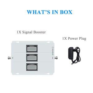 Image 5 - Lintratek 2g 3g 4g agc repetidor de sinal 900 mhz umts 2100 mhz lte 1800 mhz tri banda lcds telefone celular amplificador de reforço de sinal novo @