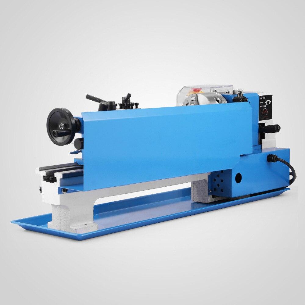 550W прецизионный мини металлический токарный станок с переменной скоростью обработки металла
