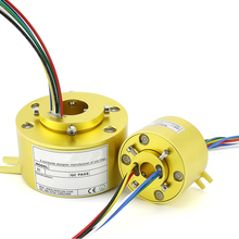 Rotary Conductive Slip Ring Hole 5mm 7mm 10mm 12.7mm 25.4mm 30mm 38.1mm 40mm Collector Slip Ring