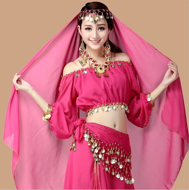Belly Dance Costume Set Bellydance 2017 Professional Bollywood
