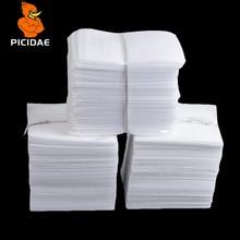 Белый PEP упаковочный мешок/перламутровые ватные мешки корабля/ударопрочный упаковочный материал полиэтиленовые вспененные сумки 9,8x13,8 дюйма