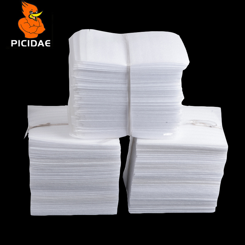 White PEP Packing Bag/ Pearl Cotton Padded Ship Bags/ Shockproof Packaging Material Polyethylene Foamed Bags 9.8x13.8inch
