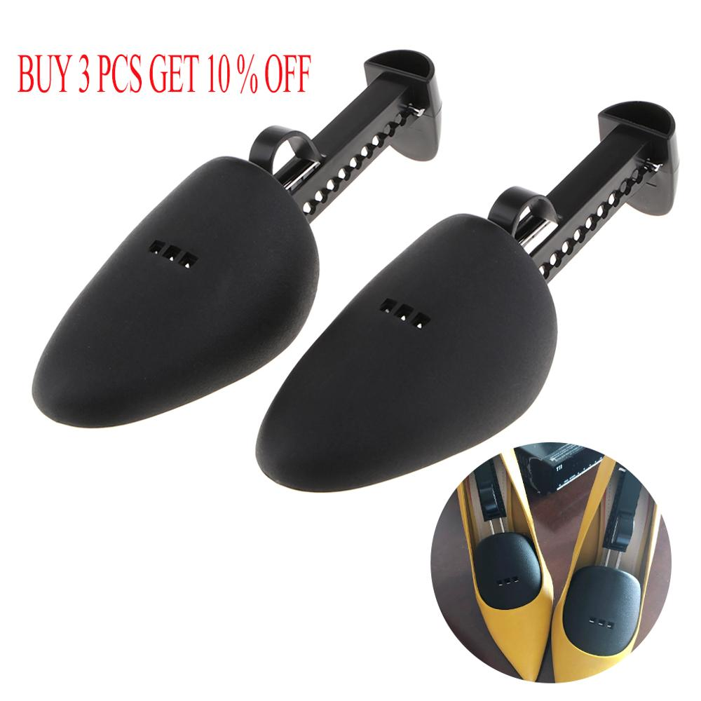 1 Pair Shoe Tree Stretcher Adjustable Length Boot Holder Shaper Support Shoe Stretcher and Foot Scrub Expander for Women&Men
