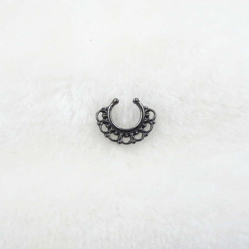 HTB1z935PFXXXXXTaXXXq6xXFXXXP Trendy Women Black Alloy Clicker Septum Nose Ring Jewelry - 10 Styles
