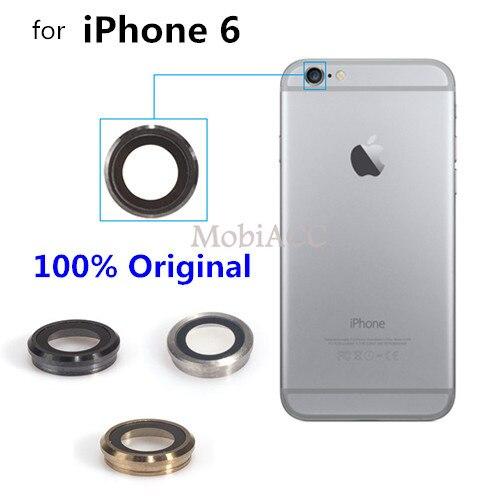 5Pcs for iPhone 6 Back Camera Lens 100% Original Rear Glass Camera Lens Replacement Part for iPhone 6 4.7