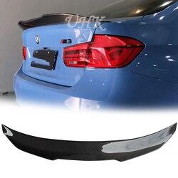 UHK Włókna Węglowego Tylny Spoiler Dla BMW Serii 3 M3 PSM Styl Bagażnika Akcesoria Skrzydła Spoyler Powietrza w Spoilery i skrzydła od Samochody i motocykle na