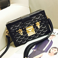 2016 new female Famous Brand handbags vintage evening  bags with  lock women shoulder flap bags Female Clutches crossbody bags