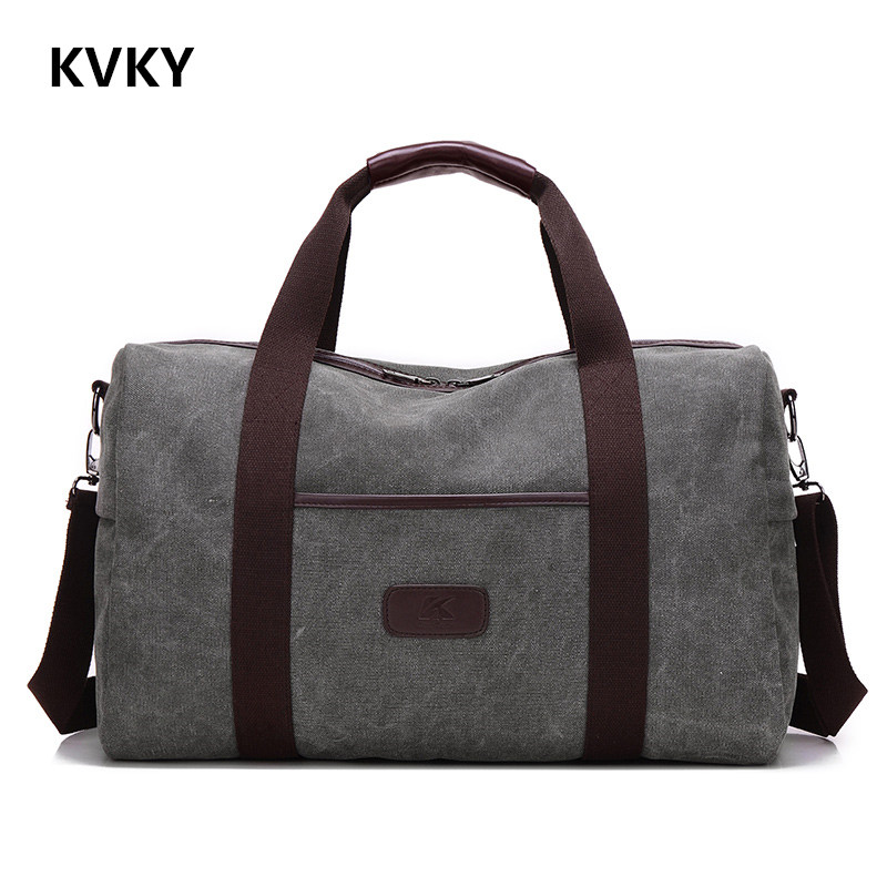 2017 New Vintage Men Canvas handbag High Quality Travel Bags Large Capacity Women Luggage Travel Duffle Bags Folding Bag bolsas 2017 new fashion brand vintage backpack large capacity men male luggage bag canvas travel bags top quality travel duffle bag man