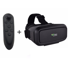 VR Happy Magnet Control Google Cardboard Universal Headset Virtual Reality 3D Glass 4-6′ Smartphone+Bluetooth Controller