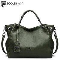 ZOOLER Guarantee 100 Female Genuine Leather Handbag Ladies Cowhide Luxury Handbags Women Bags Designer Shoulder Bag