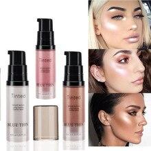 Жидкий хайлайтер контуринг макияж осветлитель для лица консилер жидкий хайлайтер праймер бронзатор для лица светящийся набор косметики
