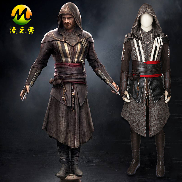 2017 Assassin's Creed II Callum Lynch Cosplay For Men Cool ...