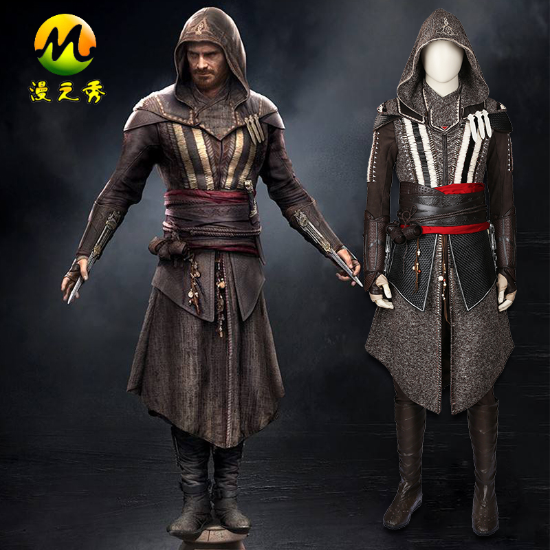 2017 assassins creed ii callum lynch cosplay for men cool halloween costume party high quality xs - 2017 Men Halloween Costume Ideas