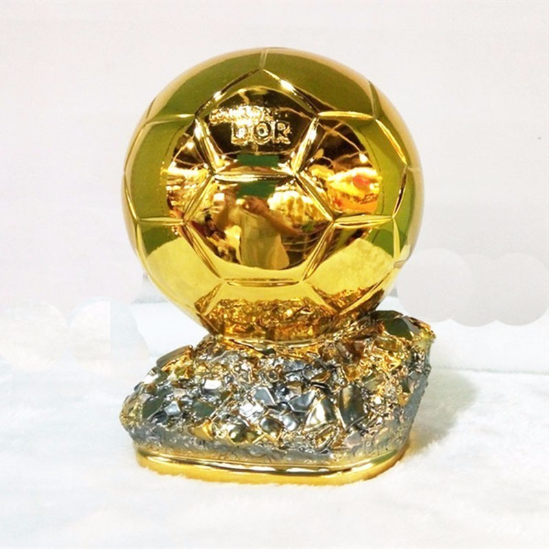 25cm 1:1 Ballon D'Or Resin Replica Trophy World Footballer Of The Year 2018 19 World Football ACE MVP Best Player Champions Cup-in Sports Souvenirs from Sports & Entertainment    3