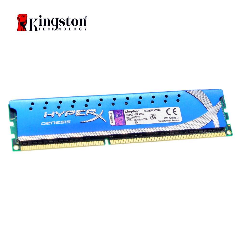 Kingston HyperX mémoire vive DDR3 8GB 4GB 1600MHz 1866MHz ram ddr3 8 gb PC3-12800 ordinateur de bureau de mémoire pour les jeux DIMM