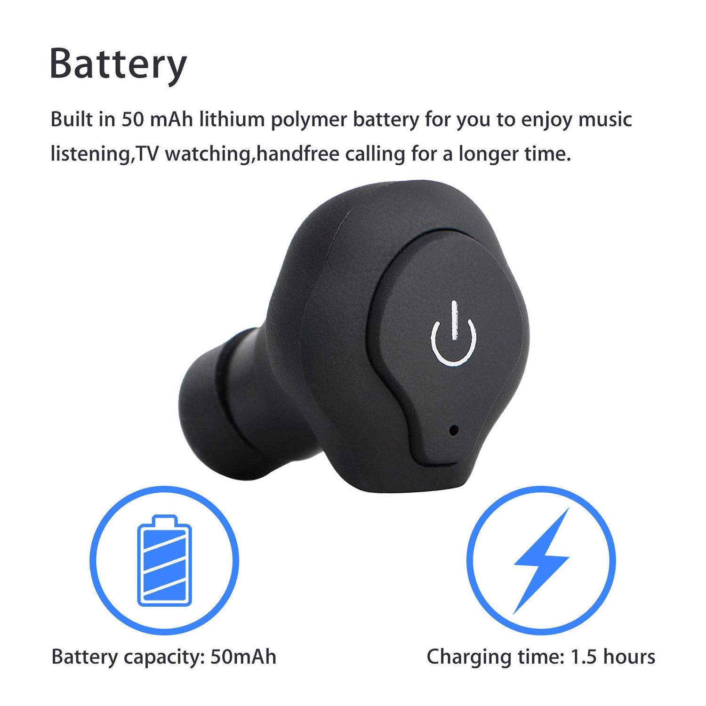 Bluetooth Mini Wireless Earbuds 5