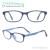 Crianças Oval Armações de óculos Ultem Óculos Menina Menino Macio Leve e Flexível Óculos de Prescrição