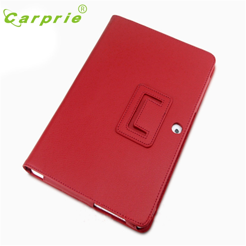 CARPRIE Leather Case Stand For Samsung Galaxy Tab 2 10.1 P5100 P5110 P5113 Feb4 MotherLander