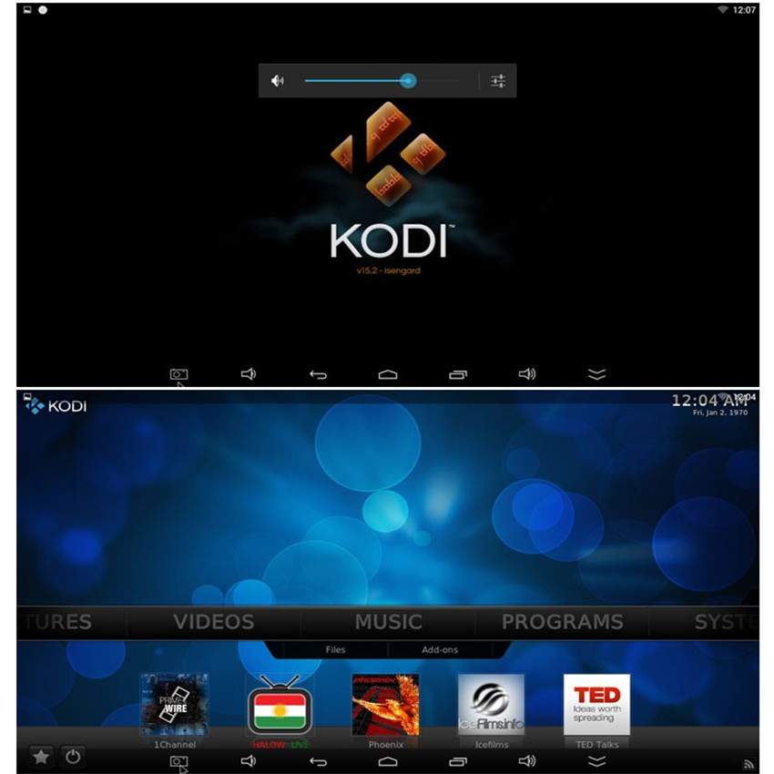 XBMC Android with working hardware